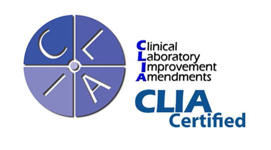 CLIA Certified